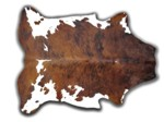 COWHIDE RUGS XL